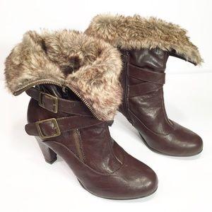 Merona high heel boots